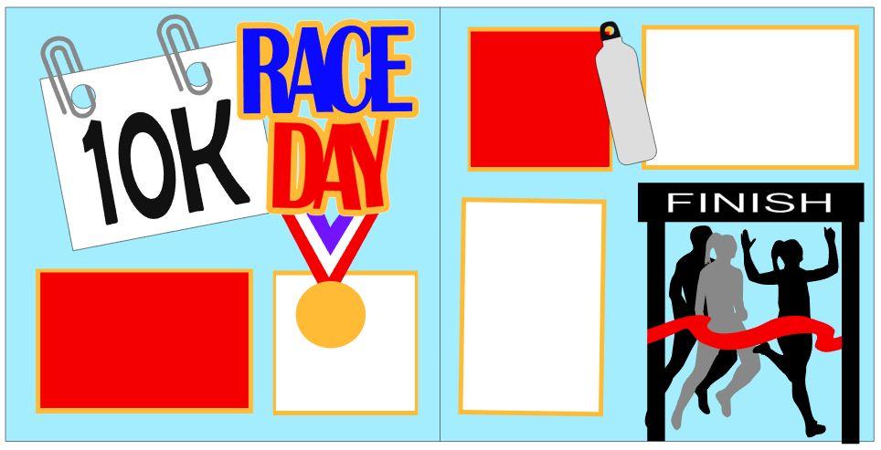 Race Day 10k Girl Winner