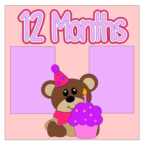12 Months Add On Kit Girl