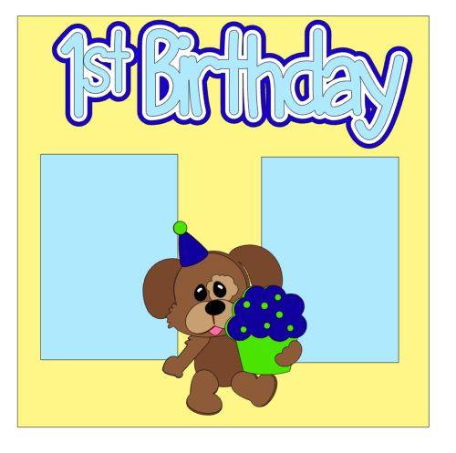 1st Birthday Add On Boy