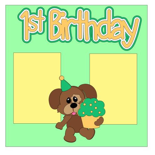 1st Birthday Add On Neutral