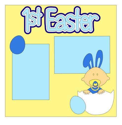 1st Easter Add On Boy