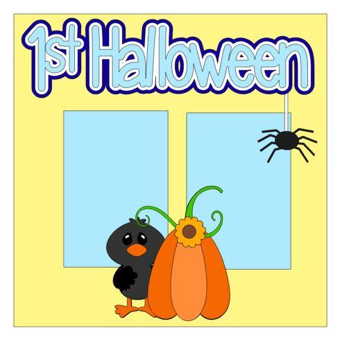 1st Halloween Add On Boy