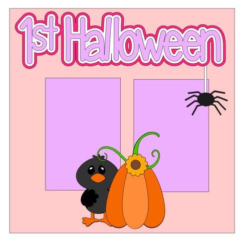 1st Halloween Add On Girl