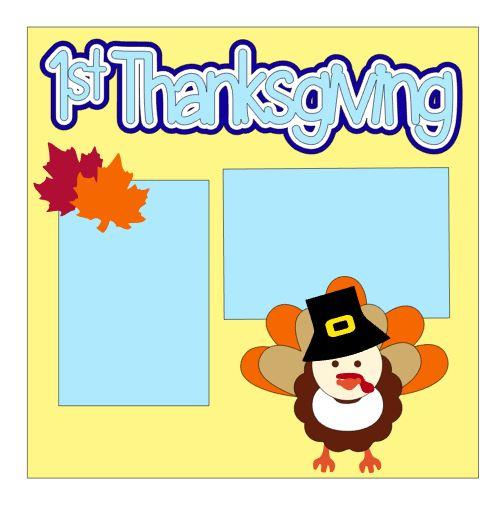 1st Thanksgiving Add On Boy