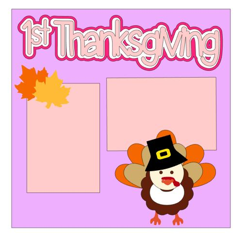 1st Thanksgiving Add On Girl