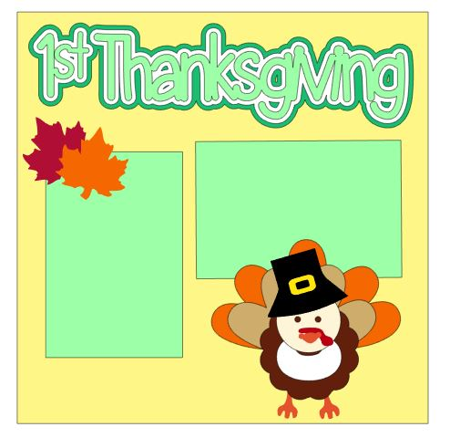 1st Thanksgiving Add On Neutral