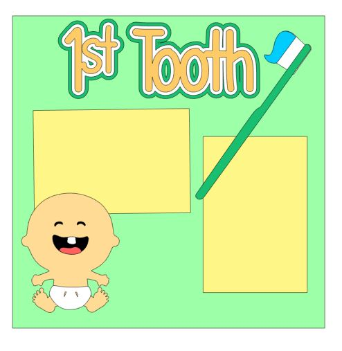 1st Tooth Add On Neutral
