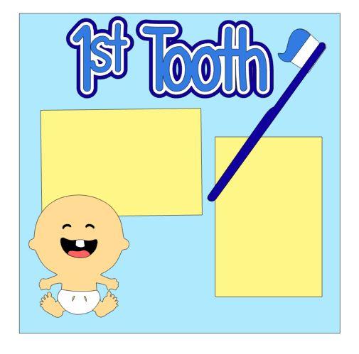 1st Tooth Add On Boy