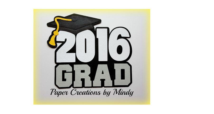 2016 Grad Paper Piecing