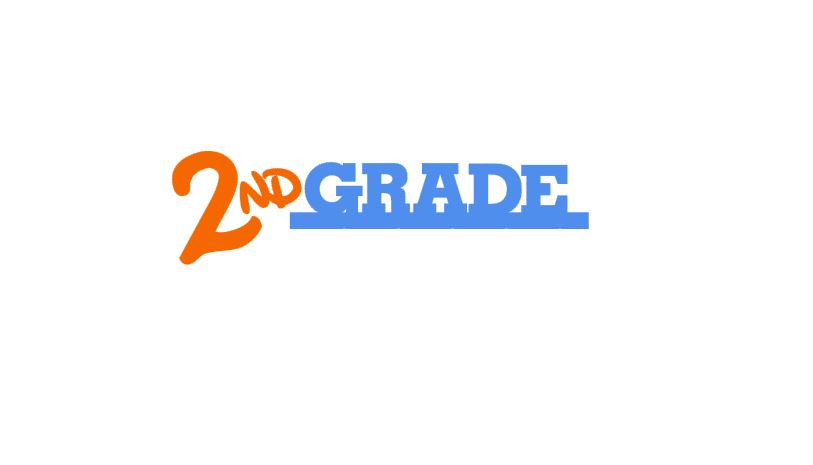 2nd Grade Title Cutout