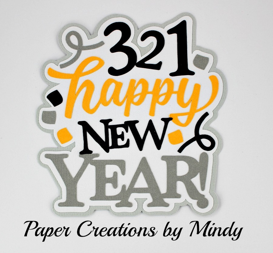 321 Happy New Year Paper Piecing