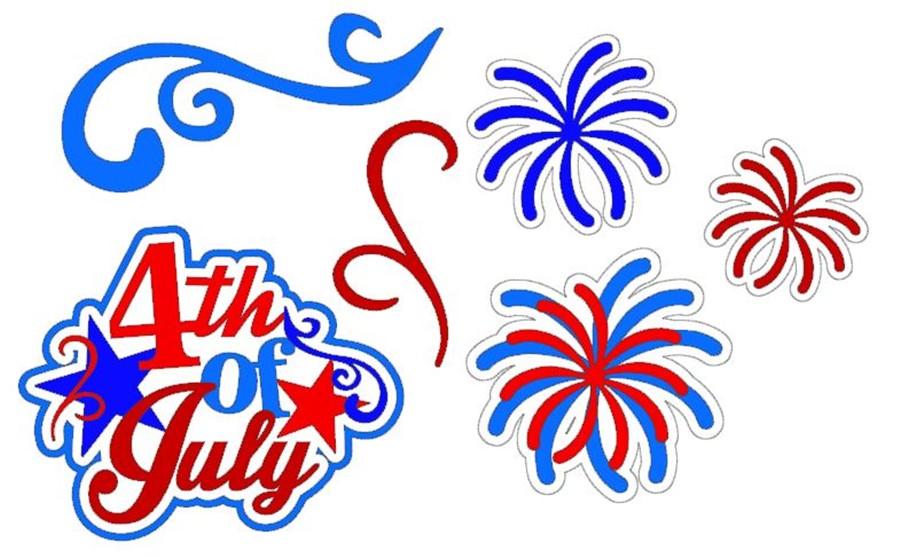 4th of July Cutouts CC