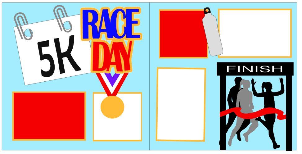Race Day 5K Girl Winner