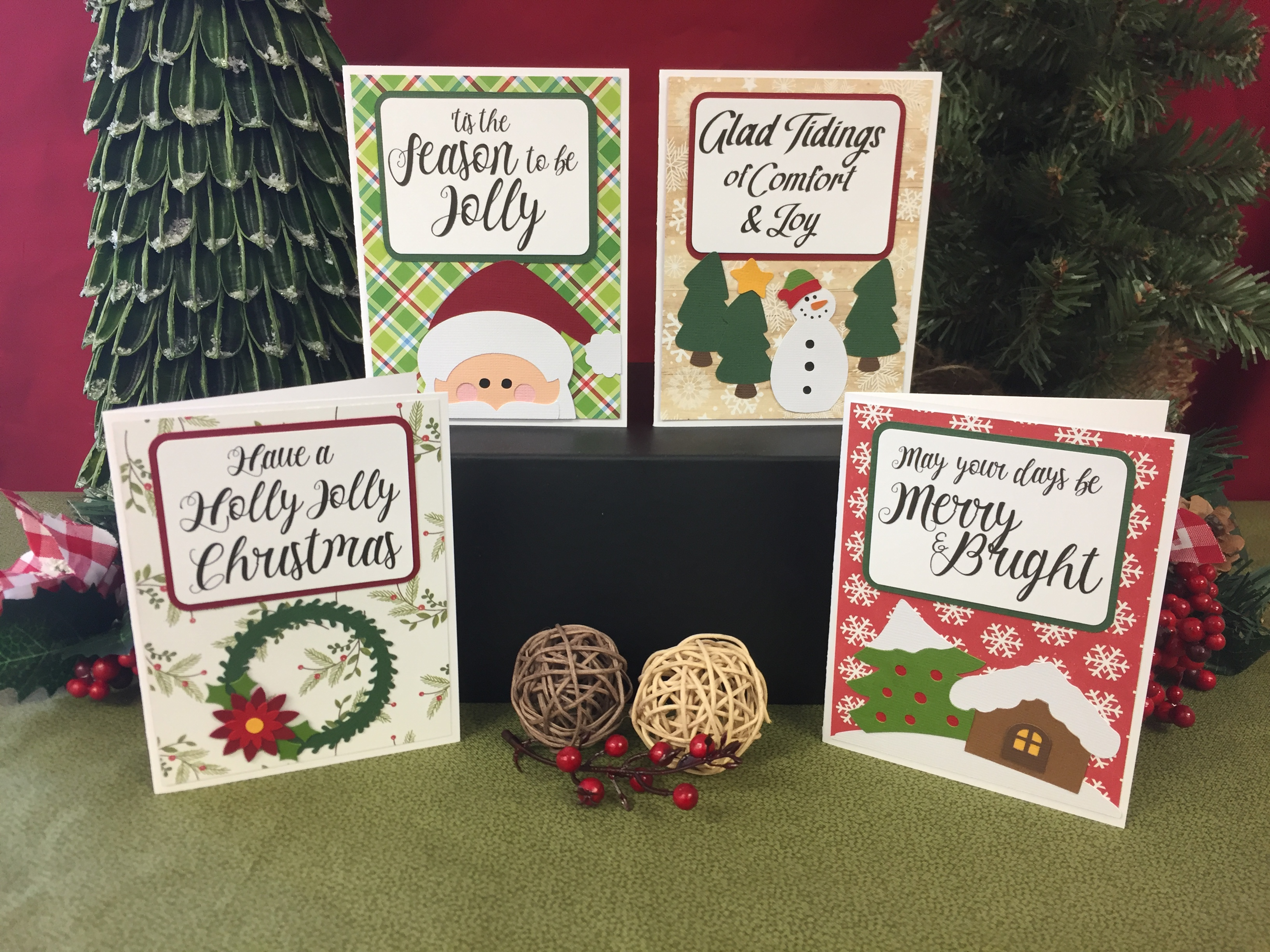 Christmas Songs Card Kit