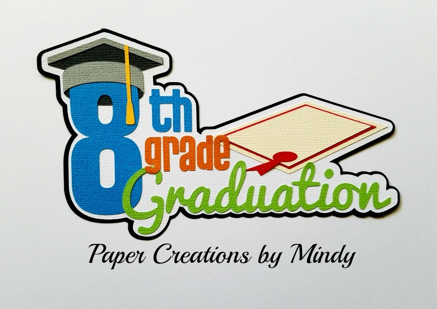 8th Grade Graduation Paper Piecing