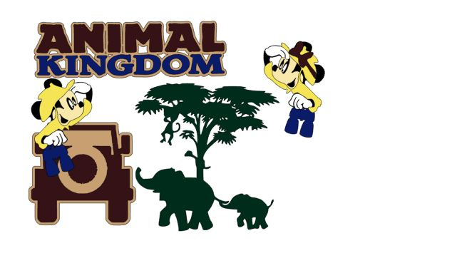Animal Kingdom Cutouts