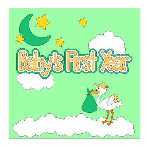 Babys First Year Cover Add On Neutral