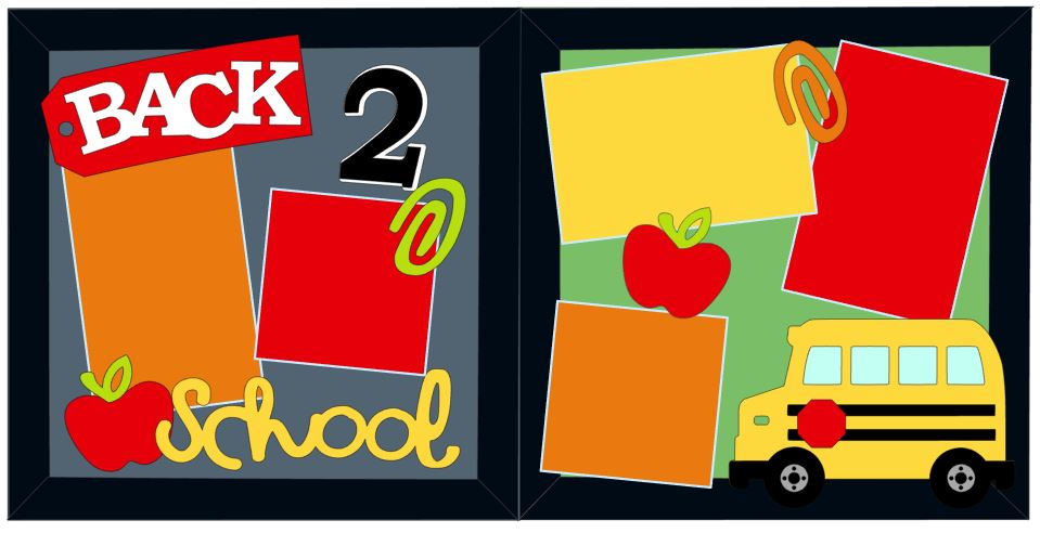 Back 2 School Cutouts