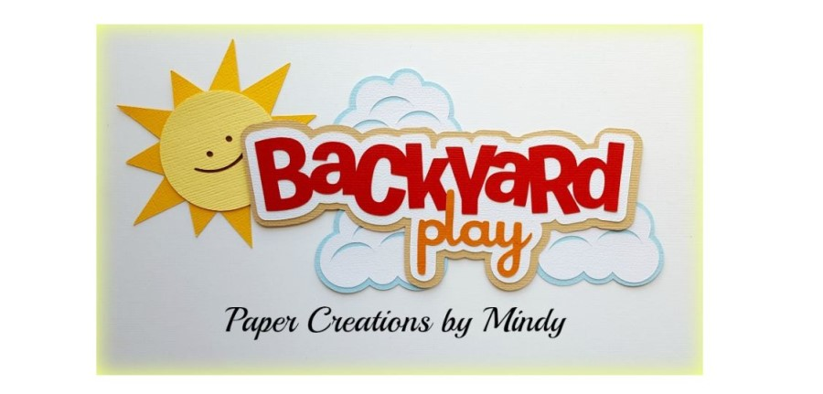 Backyard Play Paper Piecing