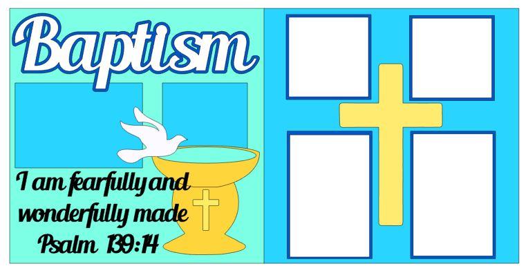 Baptism Blue Verse
