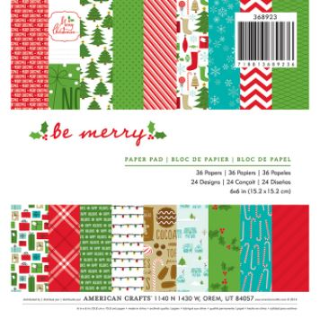 Holiday 6x6 Paper Pack