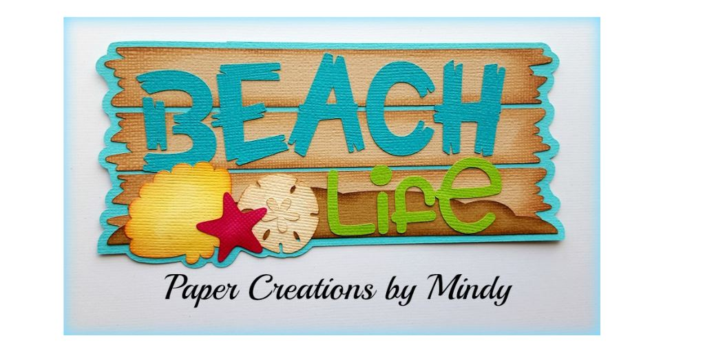 Beach Life Paper Piecing