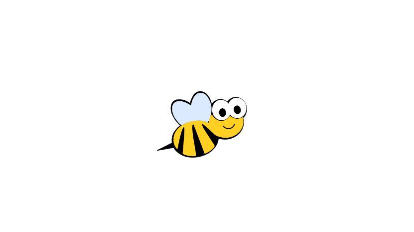 Bee Cutout