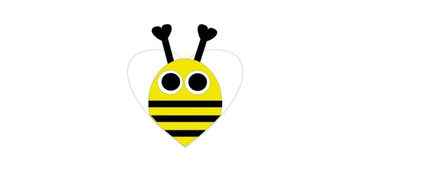 Bee Valentine Kit Qty 10