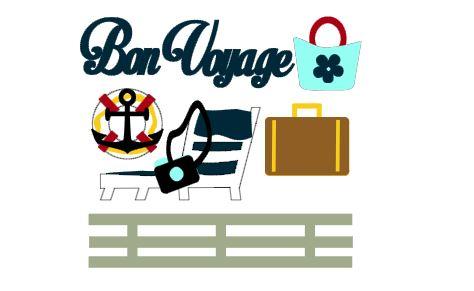 Bon Voyage Cut Outs