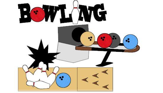 Bowling Cut Outs