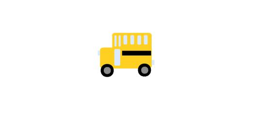 School Bus Cutout