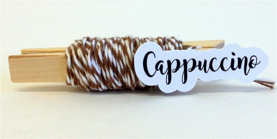 Cappuccino Stripe Baker's Twine