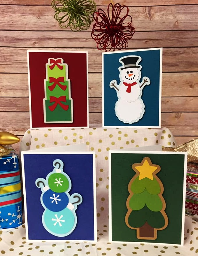 Christmas Colors Card Kit