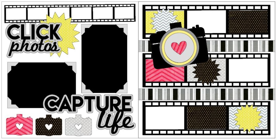 Click Photos, Capture Life CC Deluxe Kit