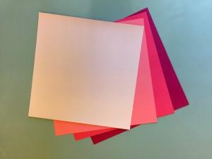 Dark Pink Paper Flower Kit
