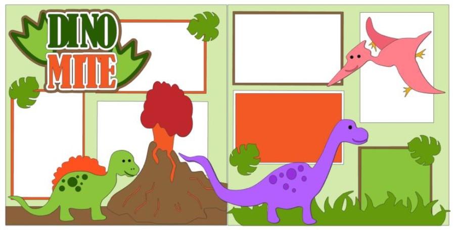Dino Mite Volcano