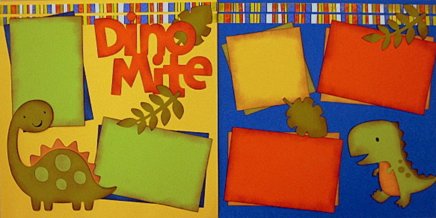 DinoMite Orange and Green - Clearance