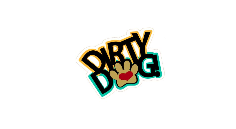 Dirty Dog Title Cutout