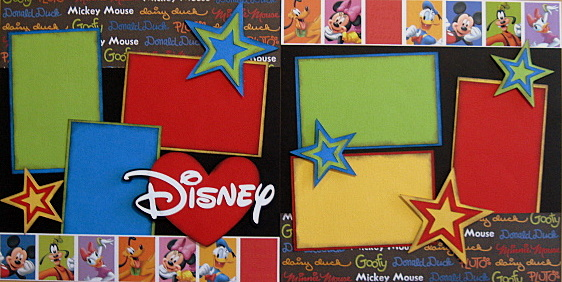 Disney Stars with Words - Clearance