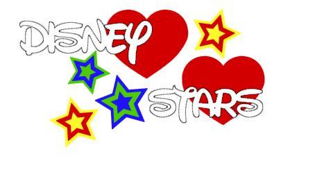 Disney Stars Cut Outs