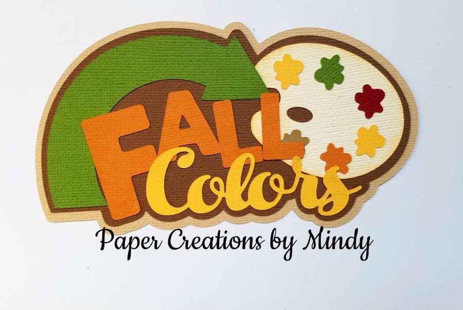Fall Colors Pallette Paper Piecing