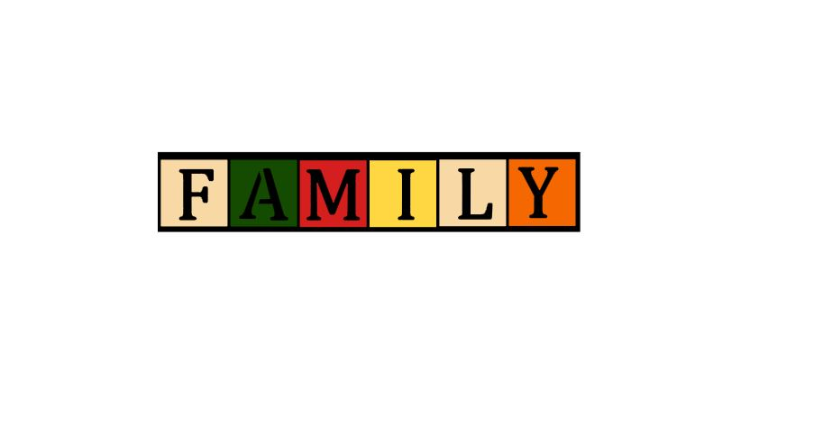 Family Title Cutout Chr