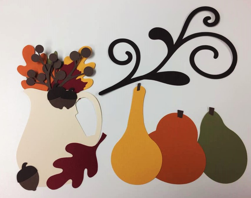 Fall Foliage Cut Outs