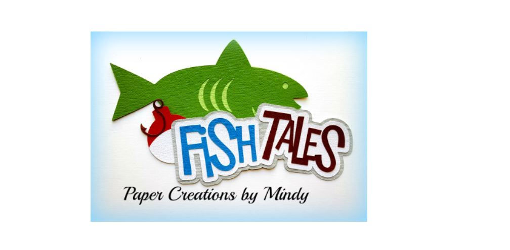 Fish Tales Title Paper Piecing