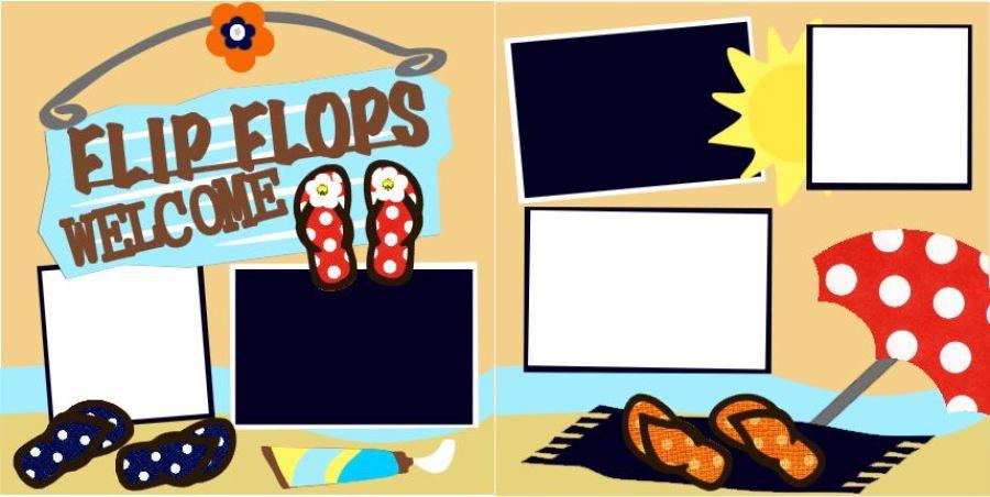 Flip Flops Welcome