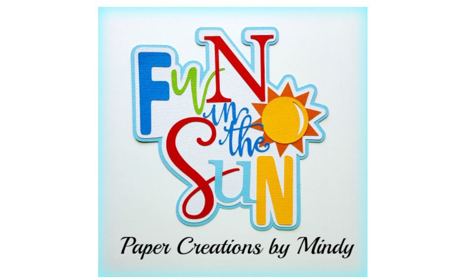 Fun In The Sun Colors Paper Piecing