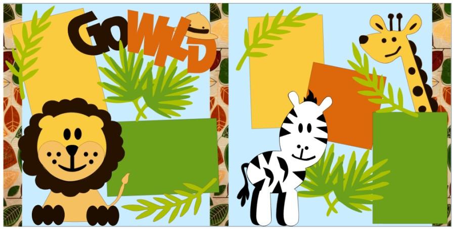 Go Wild with Zebra