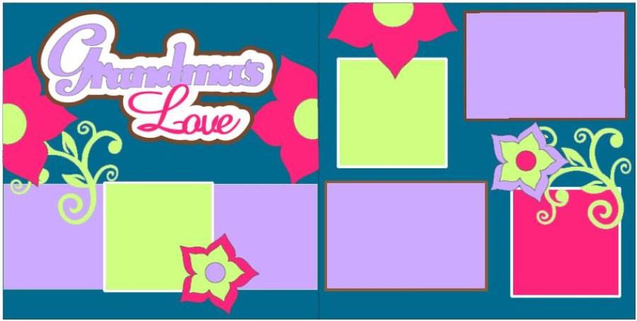 Grandmas Love Flowers 2015
