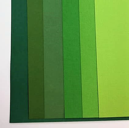 Green Pack 12 Sheets