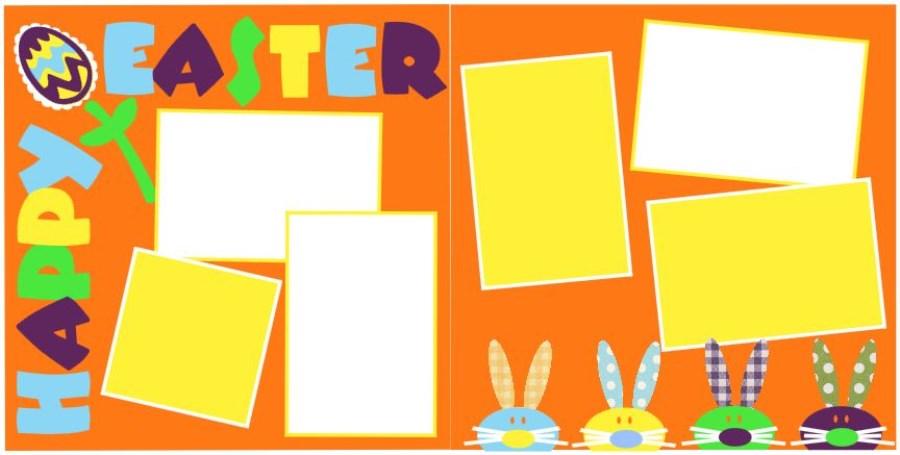 Happy Easter 0314 Orange